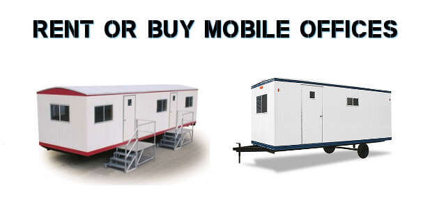 Rent Or Buy Mobile Office Trailers In Dallas TX USAMobileOfficescom - Mobile office trailer with bathroom