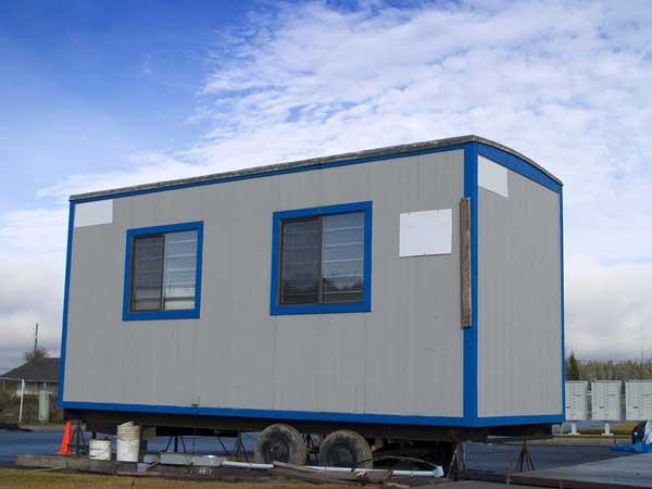 Construction trailer rental