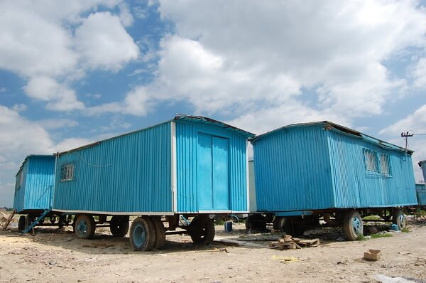 Used mobile offices