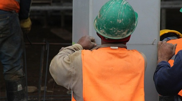 construction office trailer worker